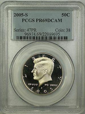 2005 S Proof Kennedy Half  50c  PCGS DCAM Deep Cameo