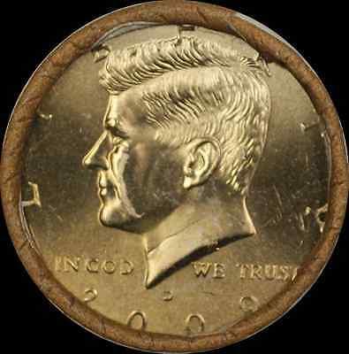 2009 D Kennedy Half  $10 OBW Roll American s
