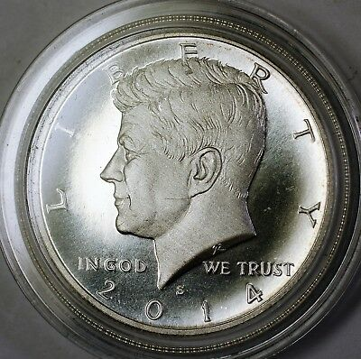 2014 S  Kennedy Half  50c Fifty Cents Proof Like