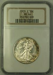 1929 S Walking Liberty Half  50c   NGC JAB