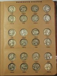 1932 1980 Washington Quarter s Complete Set w/ Proof Only Issues Dansco 8140