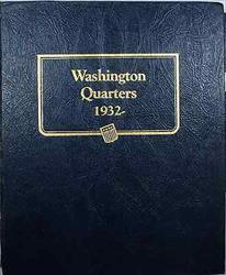 Complete Washington Quarters 1932 1998 Album 25C  Whitman Classic #9122 1