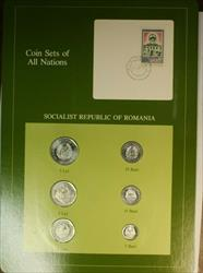 Coin Sets of All Nations Socialist Republic of Romania