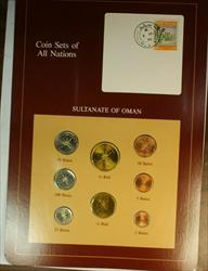 Coin Sets of All Nations Sultanate of Oman