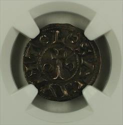 1105-12 France Denier Silver Coin Toulouse Roberts-4494 Bertrand NGC  AKR
