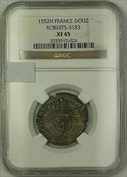1552H France Silver Douz Coin Roberts-3183 NGC  AKR