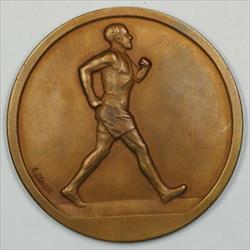 1920 Paris France Bronze Medal with Original Box JA