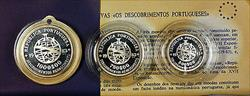 1983 Portugal European Science Art and Culture 3 Silver Gem Proof Coin Set