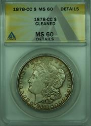 1878 CC Morgan   $1  ANACS Details Better  (28)
