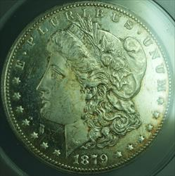 1879 CC Cameo PL Morgan   $1  ANACS Prooflike Better (28)