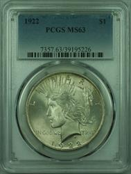 1922 Peace   $1  PCGS (27) A