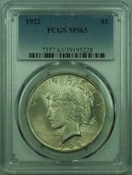 1922 Peace   $1  PCGS (27) C