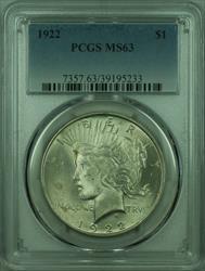 1922 Peace   $1  PCGS (27) H