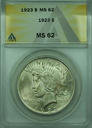 1923 Peace   $1  ANACS (28)