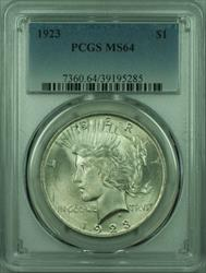 1923 Peace   $1  PCGS (27) B