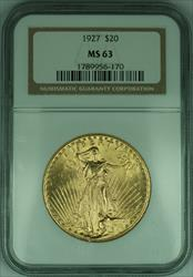 1927 Gaudens $20 Double Eagle   NGC (G)