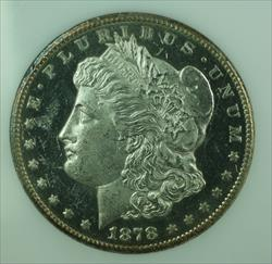 1878 CC Morgan   $1  Choice BU DMPL Proof Like in Slab