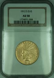 1912 S Indian Eagle $10   NGC (KD)