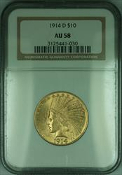 1914 D Indian Eagle $10   NGC (KD)