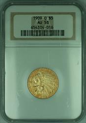 1909 O Indian Half Eagle $5   NGC (KD)