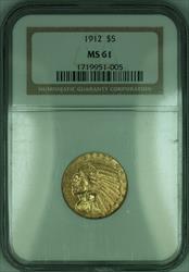 1912 Indian Half Eagle $5   NGC (KD)