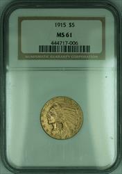 1915 Indian Half Eagle $5   NGC (KD)