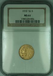 1910 Indian Quarter Eagle $2.50   NGC (KD)