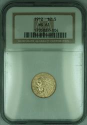 1912 Indian Quarter Eagle $2.50   NGC (KD)