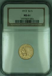 1913 Indian Quarter Eagle $2.50   NGC (KD)