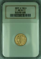 1925 D Indian Quarter Eagle $2.50   NGC (KD)
