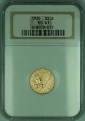1929 Indian Quarter Eagle $2.50   NGC (KD)