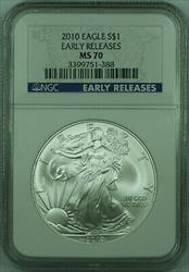 2010 American  Eagle $1  ASE 1 Oz NGC Early Release (C)