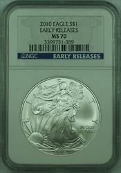 2010 American  Eagle $1  ASE 1 Oz NGC Early Release (D)