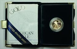 2000 W Proof 1/4 Oz American  Eagle $10  w/ Box & COA
