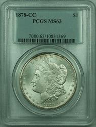 1878 CC Morgan   $1  PCGS (RP)