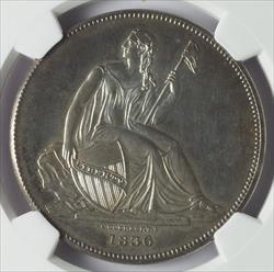 1836 Gobrecht Dollar (J-58) -- NGC PF64