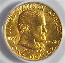 1922 G$1 Grant No Star -- PCGS MS65