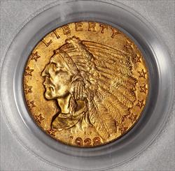 1928 $2.5 Indian -- PCGS MS65