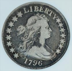 1796 Draped Bust Half Dollar 15 Stars - NGC VF20