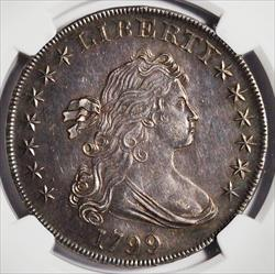 1799 Draped Bust Dollar -- NGC MS61