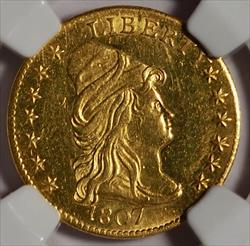1807 $2.5 Capped Bust Right -- NGC MS61