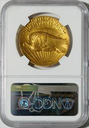 1907 High Relief $20 Wire Rim Saint -- NGC PF58