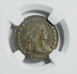 1796 Draped Bust Dime -- NGC MS63