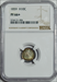 1859 Seated Liberty Half Dime -- NGC PF66+
