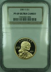 2001-S Proof Sacagawea Dollar $1 NGC DCAM