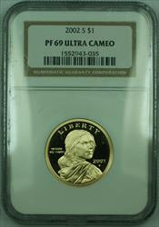 2002-S Proof Sacagawea Dollar $1 NGC DCAM