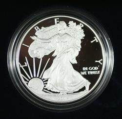 2014 W Proof American  Eagle S$1 1 Oz Troy .999 Fine With COA & OGP