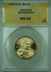 2003-D Sacagawea Dollar $1 ANACS