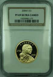 2004-S Proof Sacagawea Dollar $1 NGC DCAM