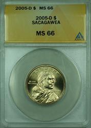 2005-D Sacagawea Dollar $1 ANACS